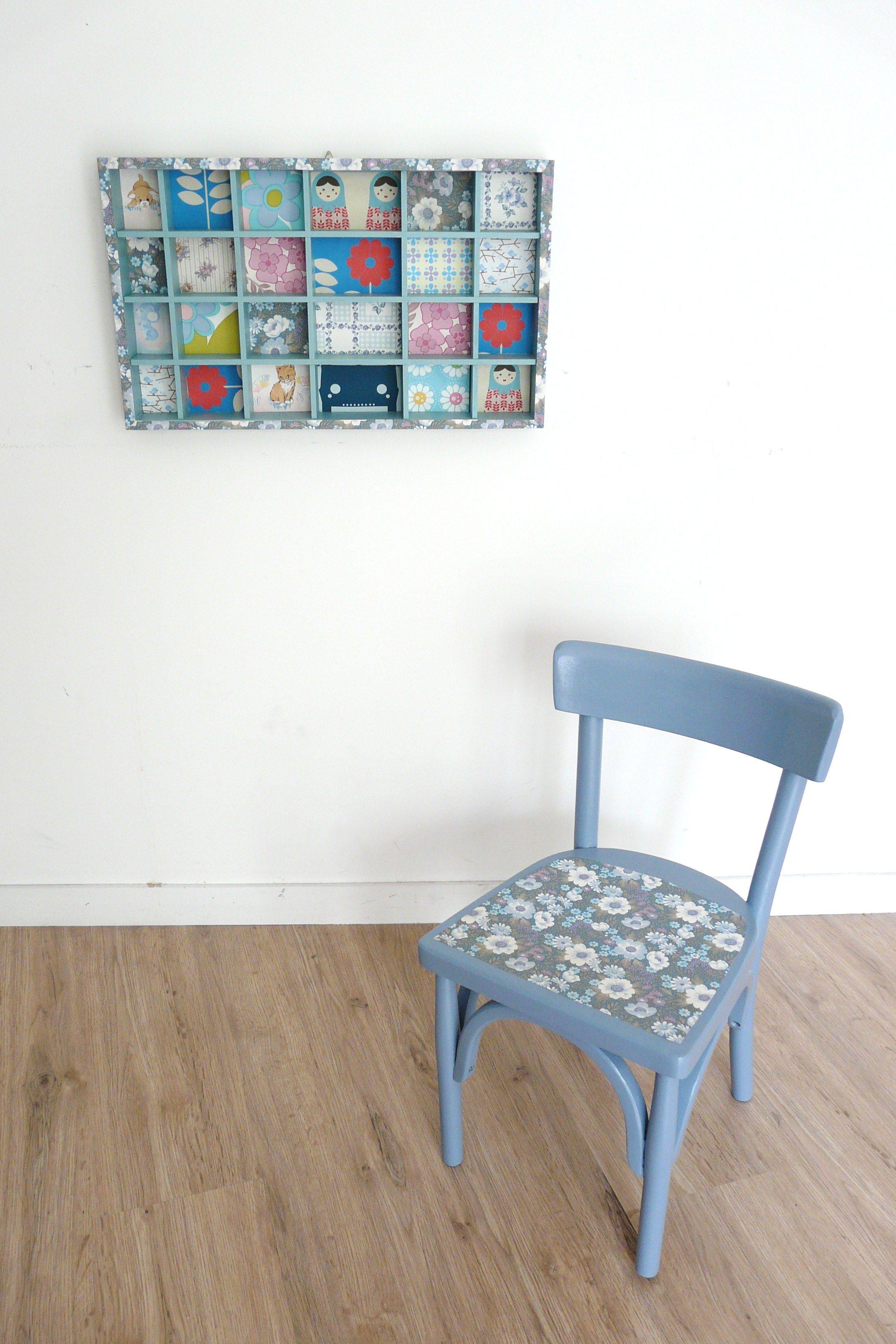 Chaise d 39 colier vintage bauman - Chaise d ecolier vintage ...