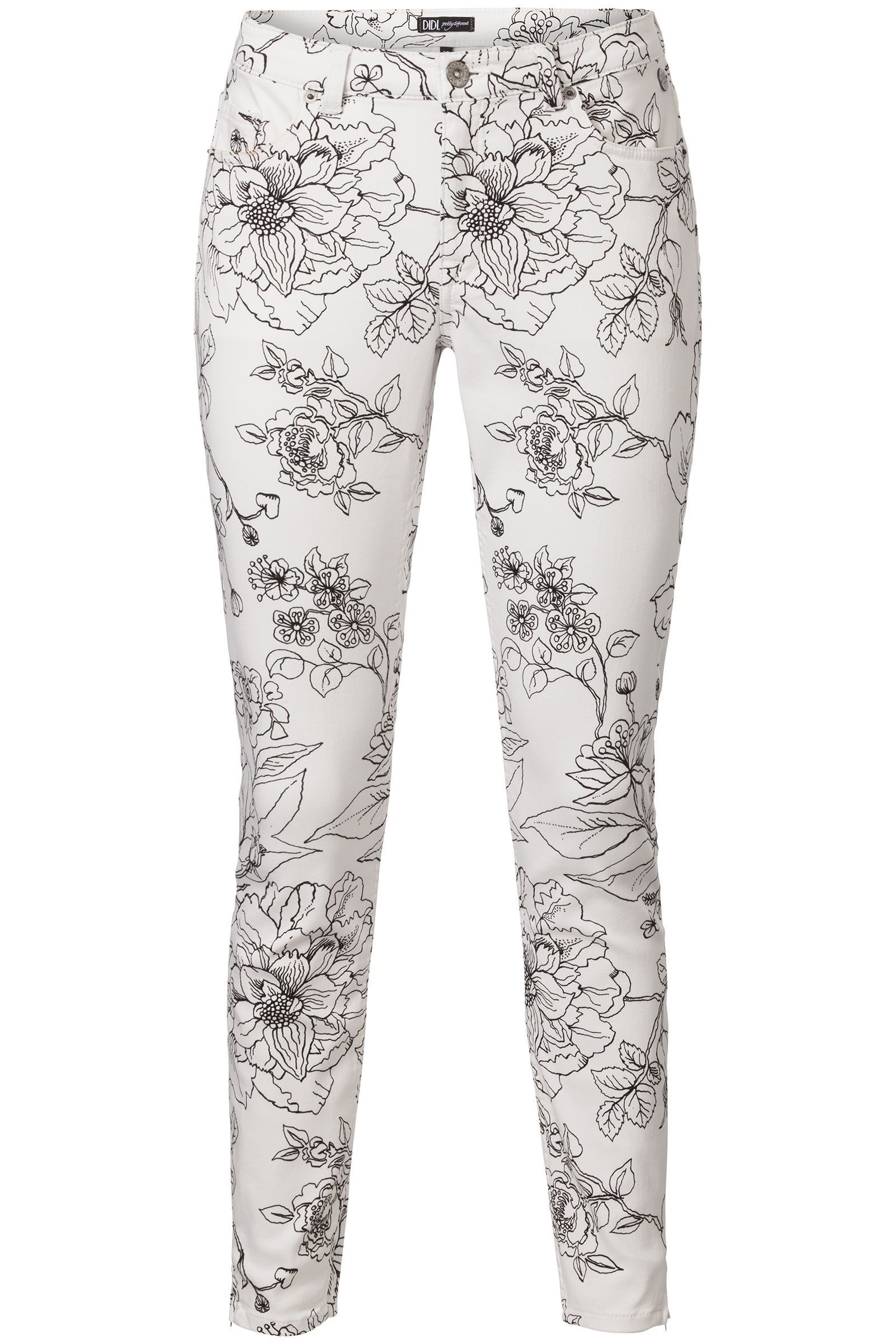 Morning Glow | Fall collection | Pants | Print | Flowers | Black | White