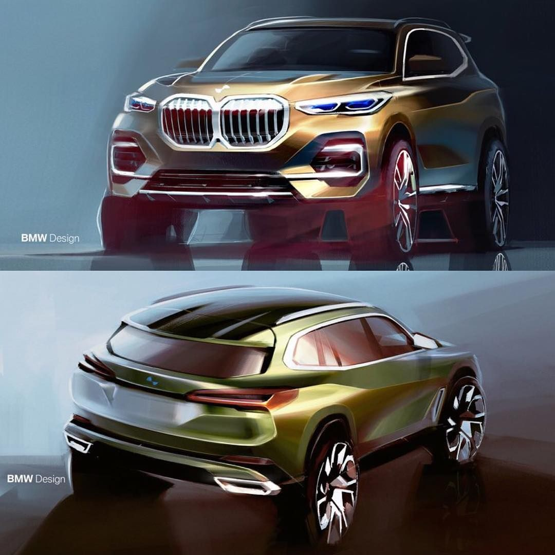 BMW X5 MY 2019. Renderings By @athogersen
