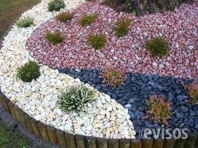 Venta Piedra Laja Cantorodado Granalla Grava Jardin Con Piedras Jardines Piedras Decorativas Para Jardin