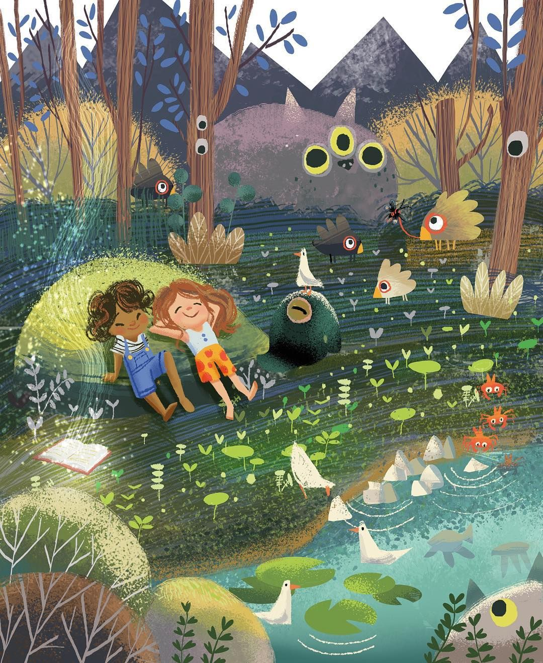 Happy Childrensbookweek This Years Theme Is One World Many Stories What S Your Story Illustration Art Kids Book Illustration Art Picture Books Illustration