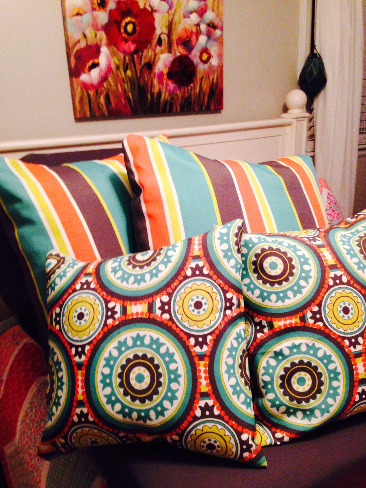 Pillows for the porch.