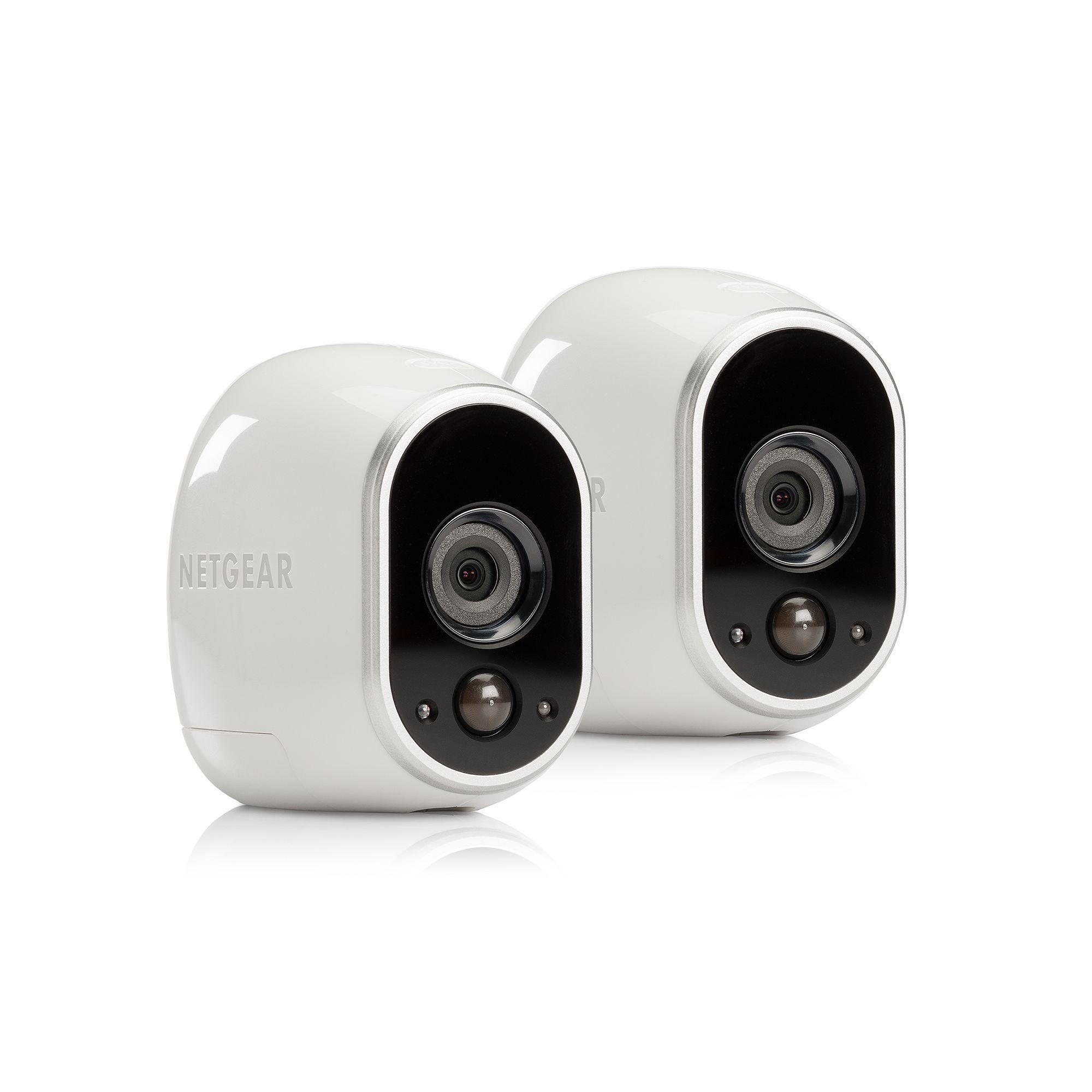 Netgear Arlo Smart Home Indoor Outdoor Wireless HD Security Camera ...