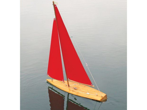 Build a Wooden Mini Yacht this weekend.