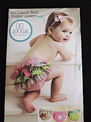 Too Cute to Boot Diaper Covers Pattern Ellie Mae Kwik Sew 102 Baby ...