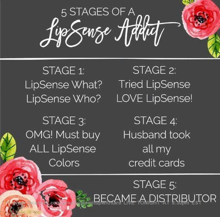 FB Group:glamitupwithtara LIVE Tues/Thurs@ 8:30@lacroix @TitosVodka @enjoyLaCroix @LisaVanderpump @lisarinna @KyleRichards #tips&tricks   Please let me know in the comments what you would like to know tonight?!?! What stage LipSense user are you?!?!?