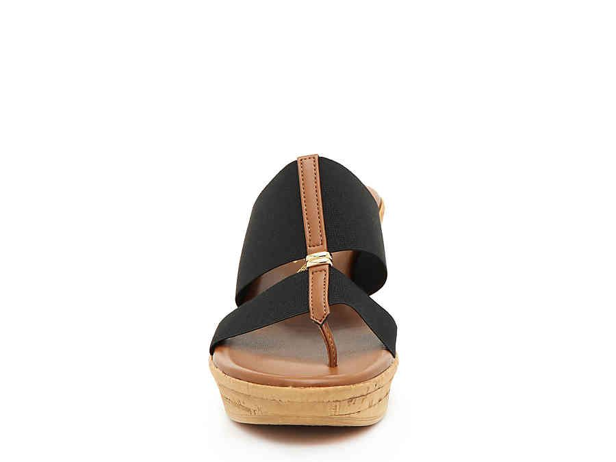Italian Shoemakers Nami Wedge Sandal Women's Shoes | DSW