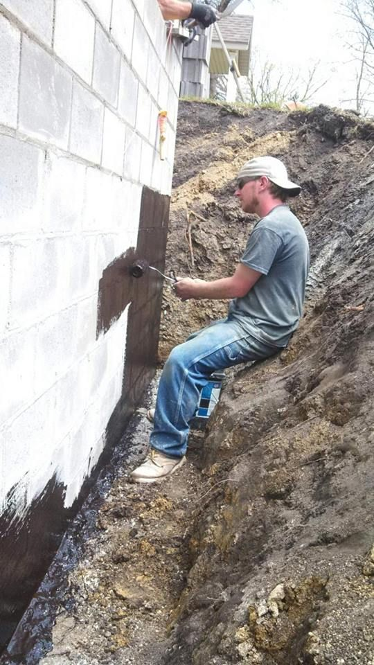 Dry Seal Waterproofing Works Great Foundation Bat It Harbor