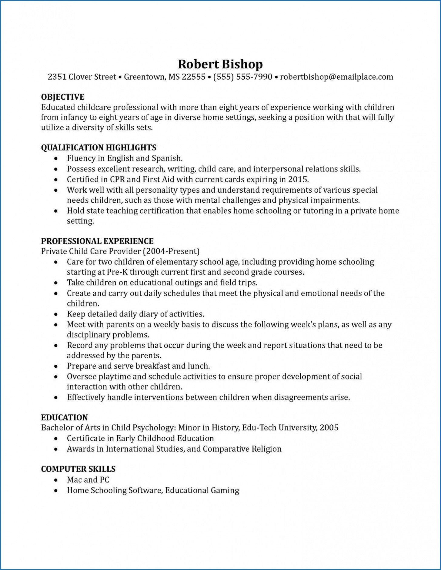 Early Childhood Education Resume Example Kizi Game In 2020 Teacher Job Research Paper Examples