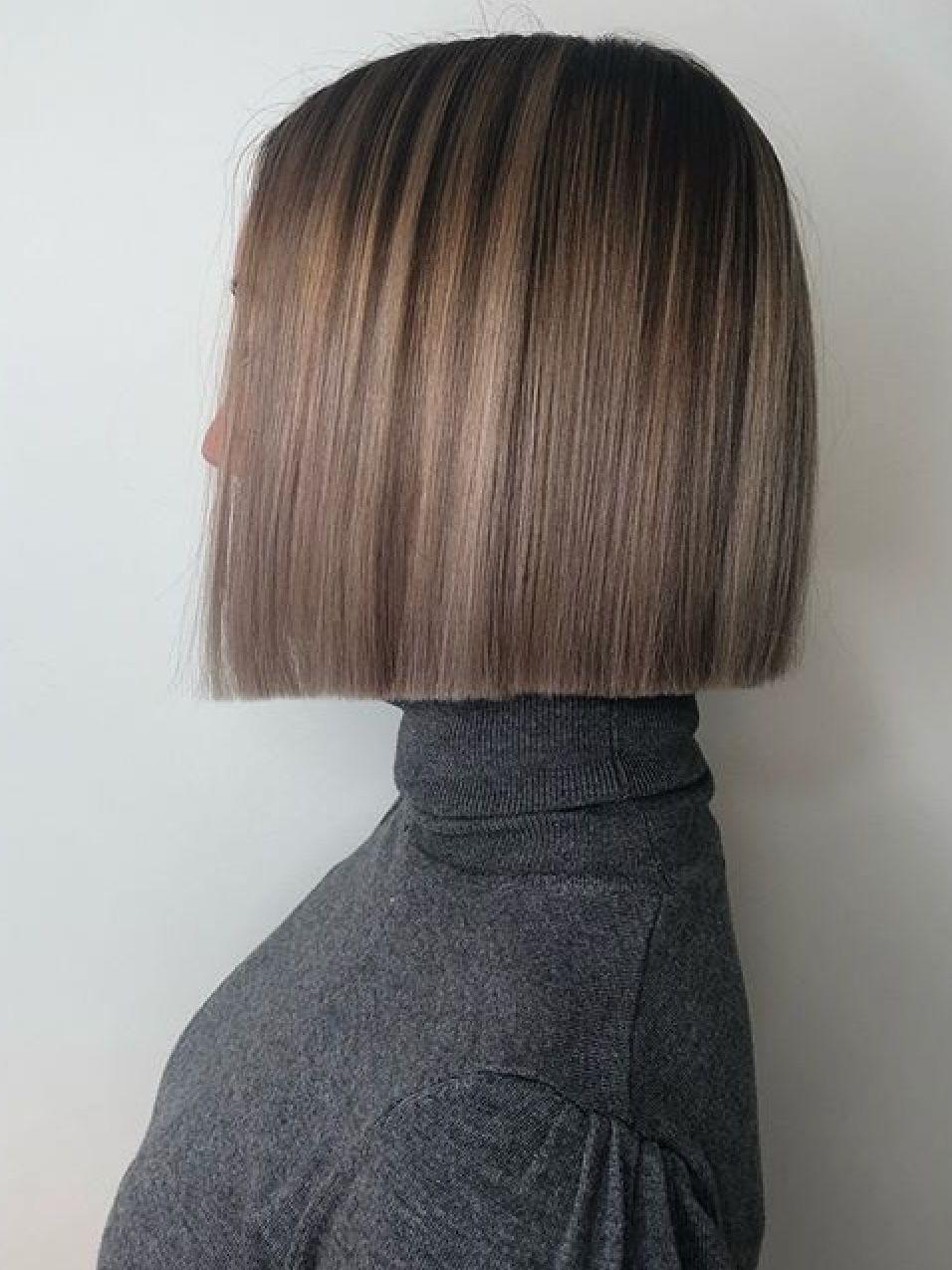 All One Length Bob : length, Yvonne, Hohenhaus, Young, Zijkant, Styles,, Length, Hair,, Haircuts