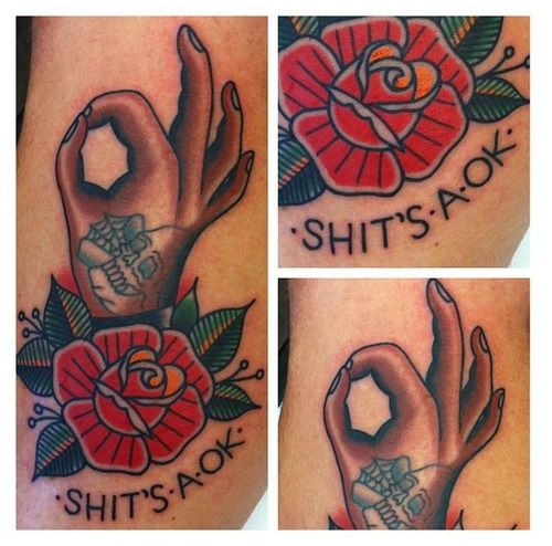 Fuck yeah traditional tattoos!