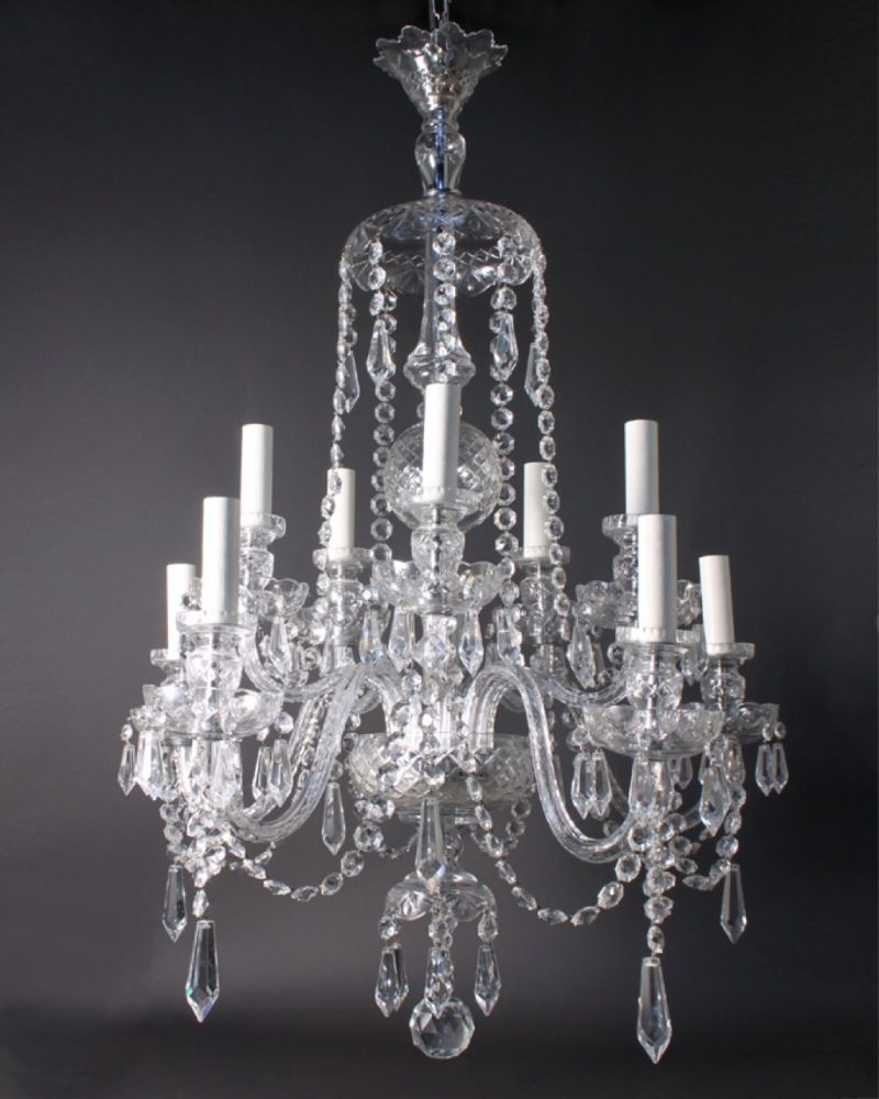 Antique Crystal Chandeliers In Interior Decor Home With Decoration Ideas