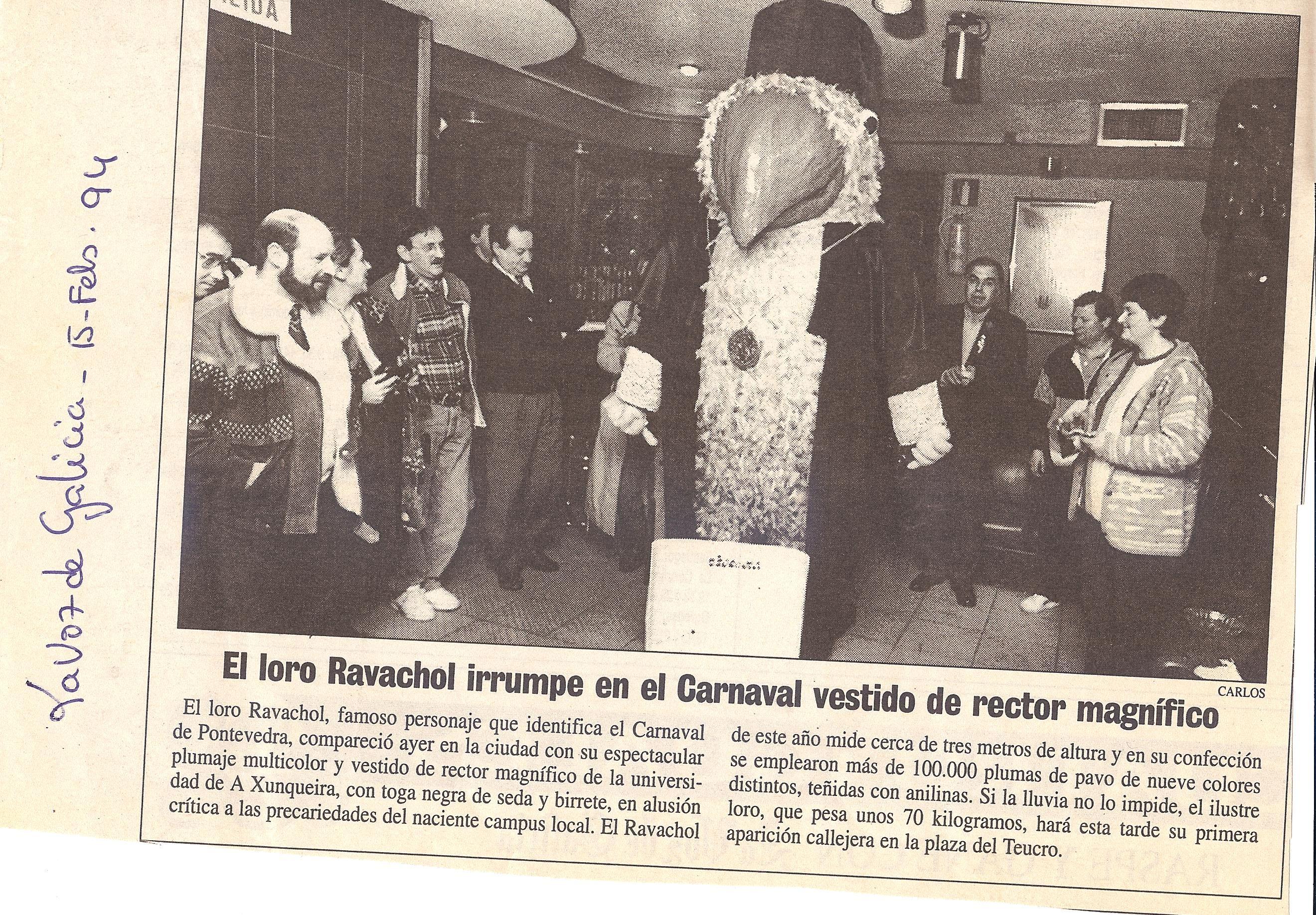 PRENSA, PRESENTACION LORO RAVACHOL  RECTOR EN DISCOTECA SHIVA