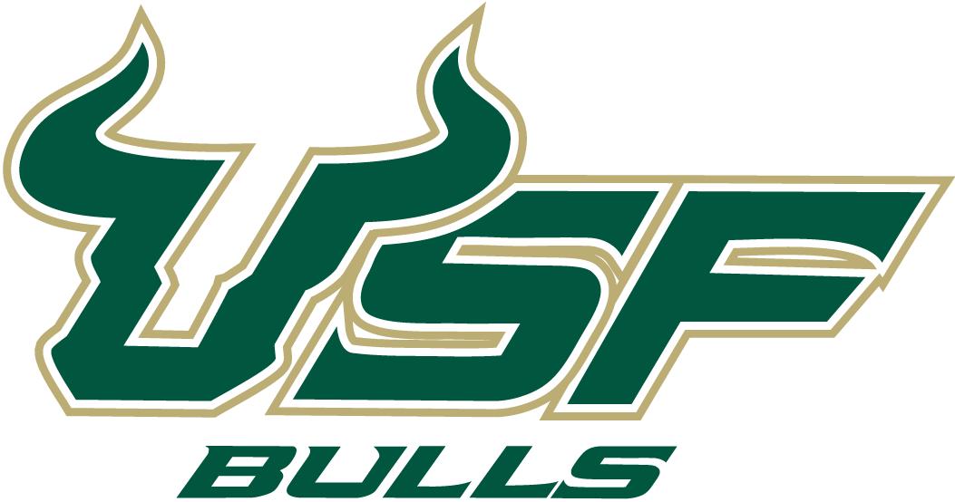 Usf Bulls Wordmark Logo 2003 2009 South Florida Bulls University Of South Florida Usf Bulls