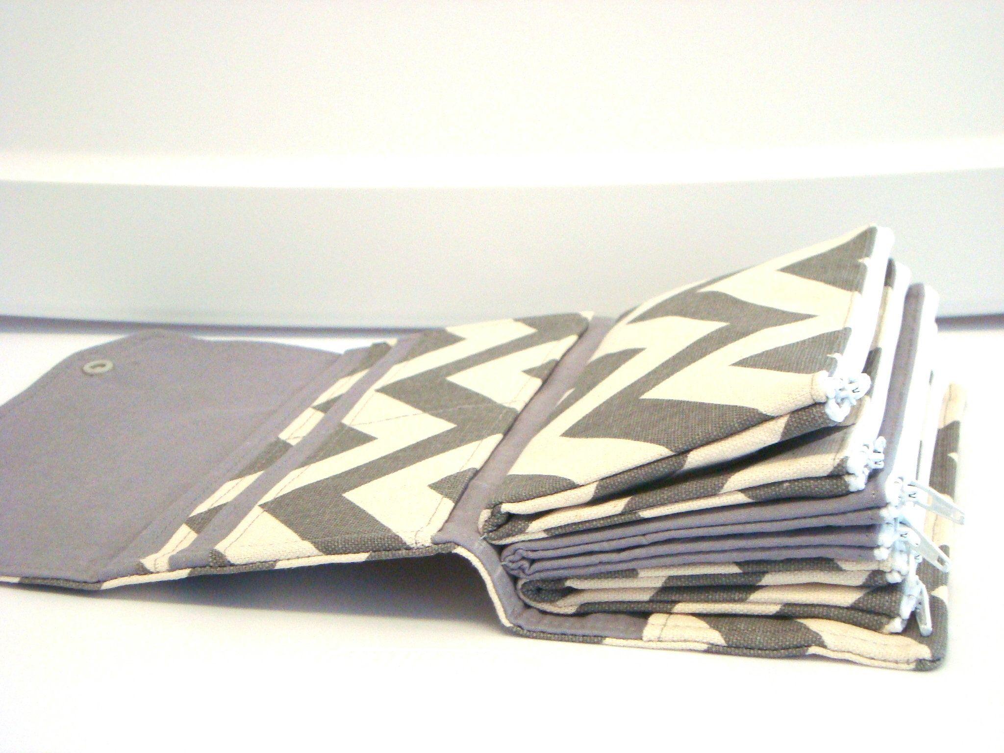 Cash envelope coupon wallet dave ramsey system zipper