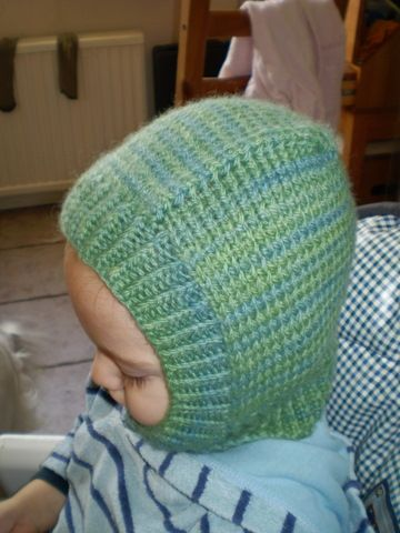 child\'s knitted hat balaclava these are great for really cold ...