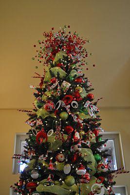 Kristen S Creations A Whimsical Christmas Whimsical Christmas Trees Diy Christmas Tree Topper Red Christmas Tree