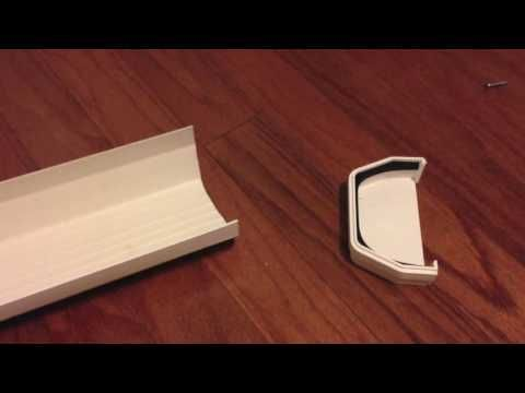Gutter Bookshelf Diy Youtube Bookshelves Diy Gutter Bookshelf Bookshelves