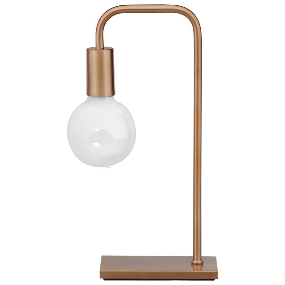 pipe luminária mesa
