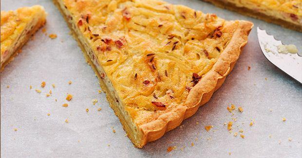 Zwiebelkuchen | tartes und quiches | Pinterest | Zwiebelkuchen ...