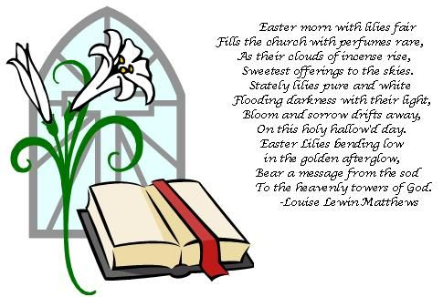 Easter Lily Symbolism Clipart Library