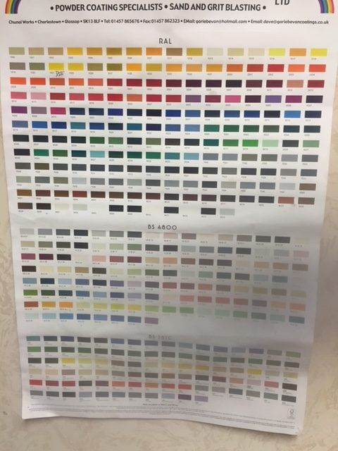 RAL colour chart General Pinterest Ral color chart and Gardens - ral color chart