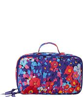 Vera Bradley Luggage  Blush & Brush Makeup Case
