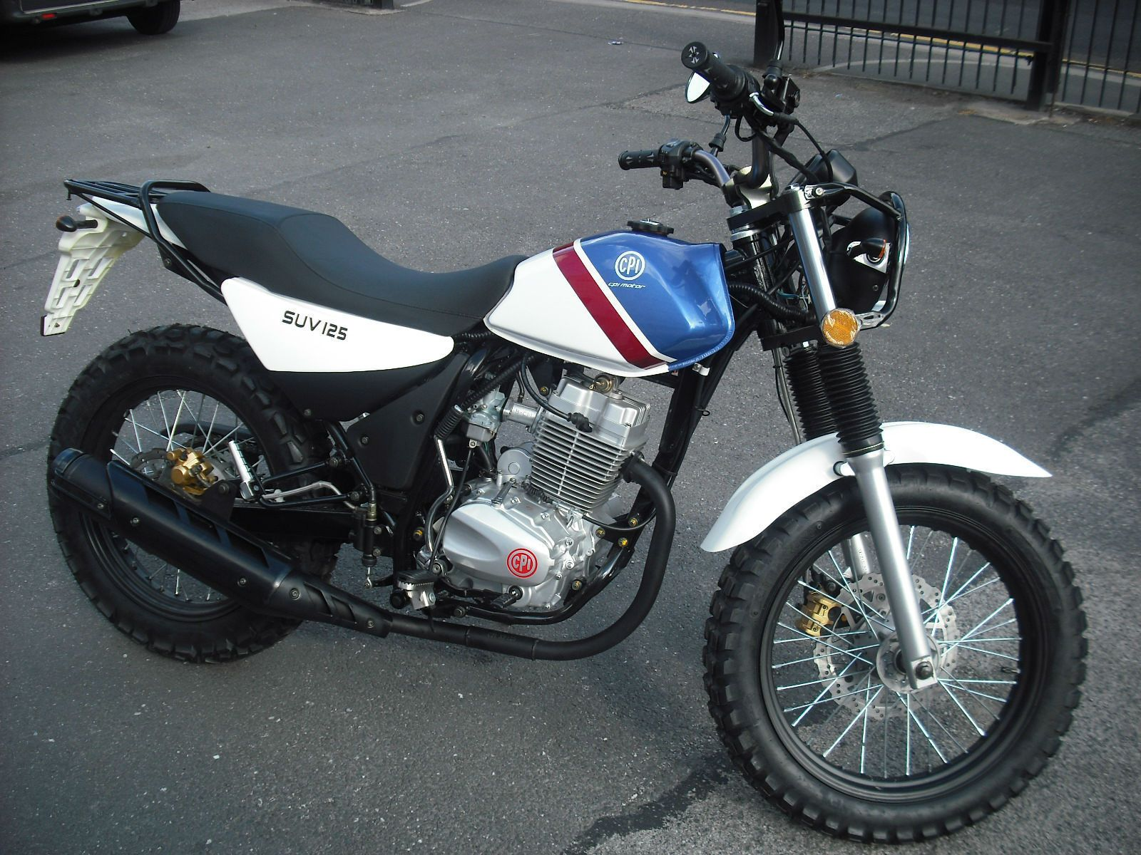 CPI SUV 125 cc motorcycle | eBay | Shit hot bikes  | Motorcycle