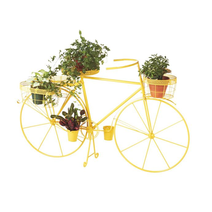 Love This Yellow Bicycle Outdoor Planter By Midwest CBK On