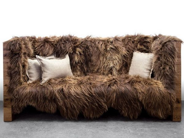 Fantastic The Chewbacca Fur Couch Star Wars Furniture Unique Sofas Creativecarmelina Interior Chair Design Creativecarmelinacom