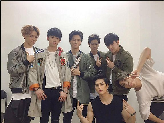 GOT7 recieved The Best Korea Rookie of the Year Award 01