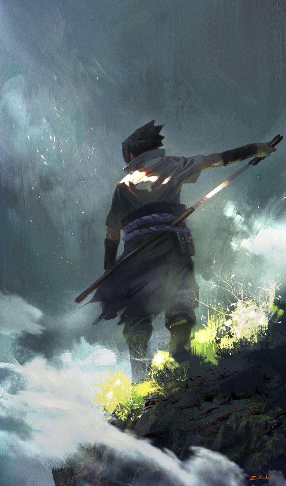 Sasuke, cl z on ArtStation at http://www.artstation.com/artwork/sasuke