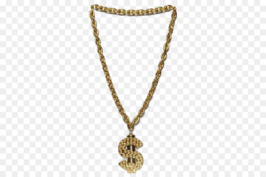 1fac23a9cbcd9b Chain Necklace Bling-bling Jewellery Amazon.com - Thug Life Gold Chain  Transparent PNG