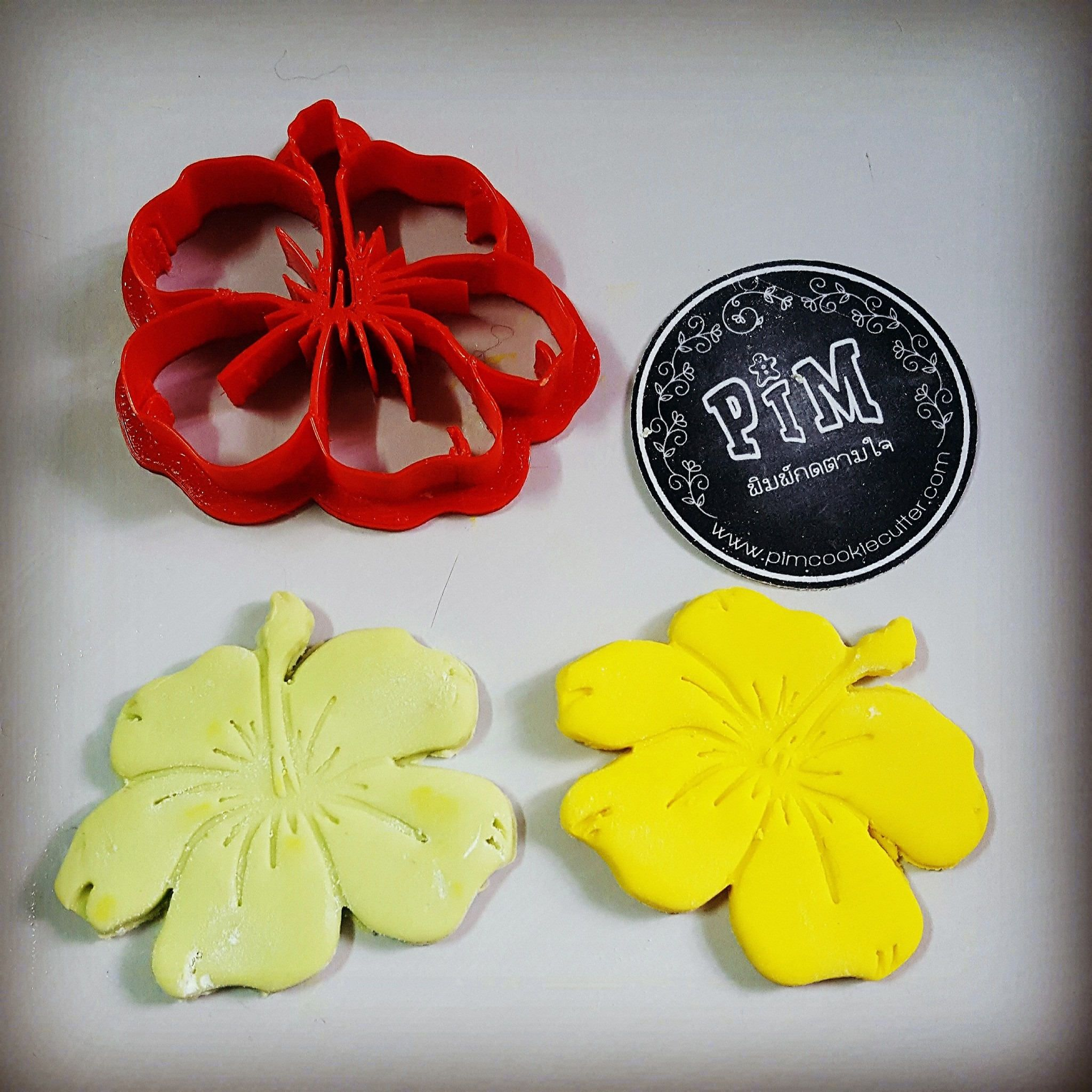 Beautiful Hibiscus Flower Cookie Cutter Cookie Cutter Pinterest