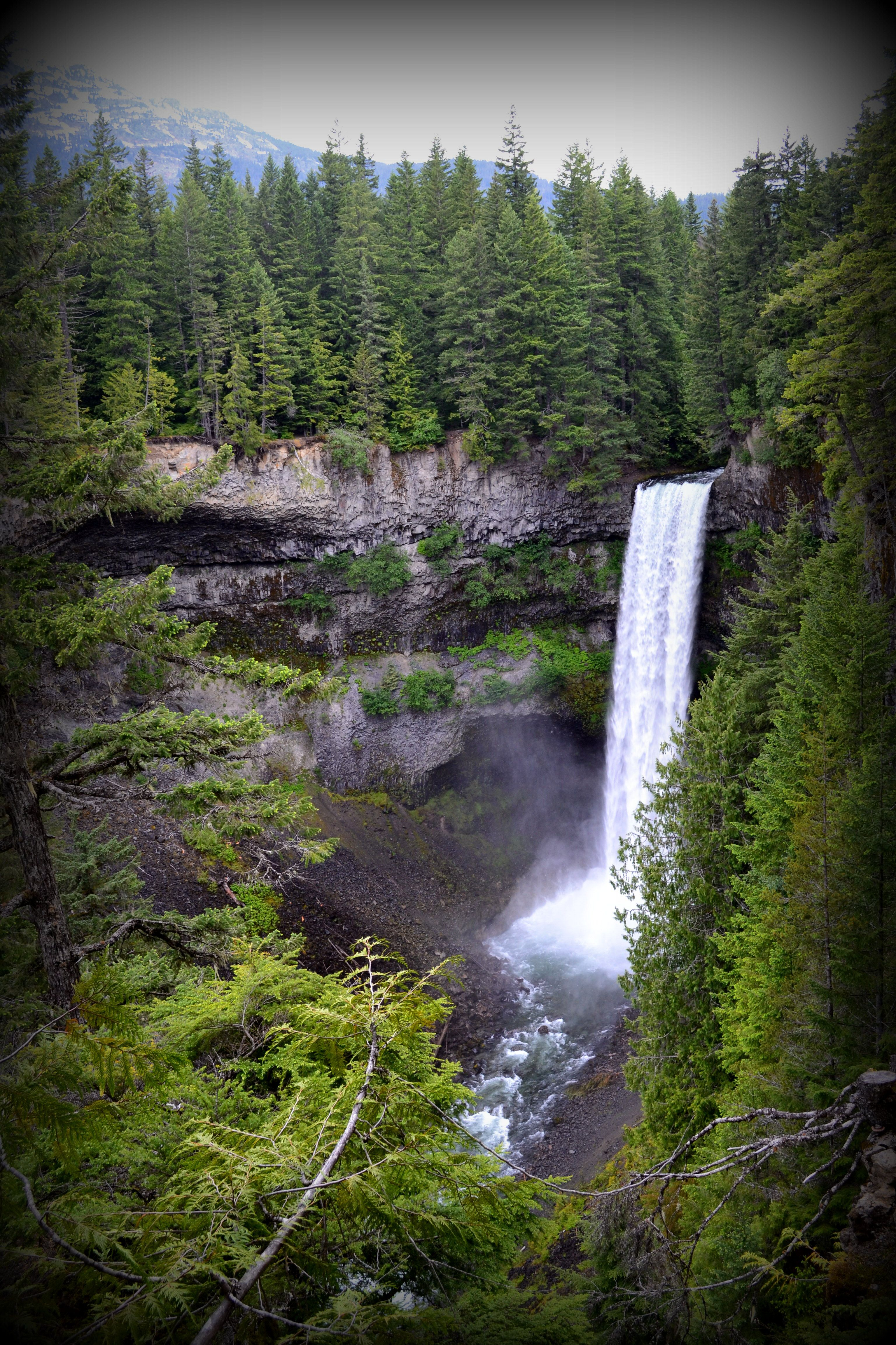 brandywine falls outside of whistler, canada, bc | awesome places