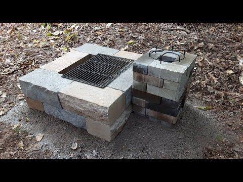 Brick Rocket Stove Design Rocket Stove Fire Pit Hybrid Youtube