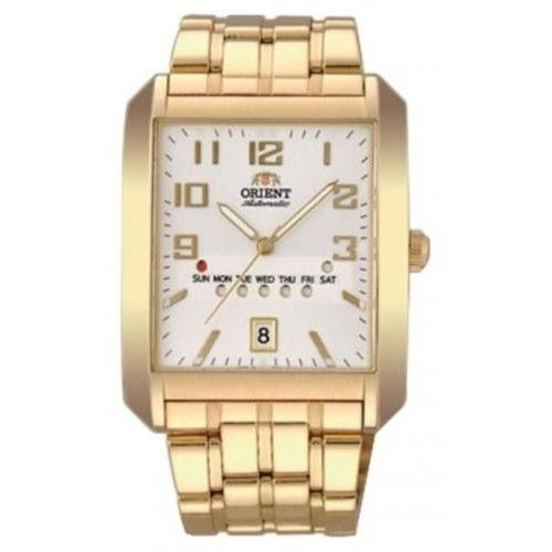 Buy #Orient Classic #Automatic Men White Dial Golden Metal Strap Square Shape #Watch @ orientwatch.in for Rs.11,992.50/-