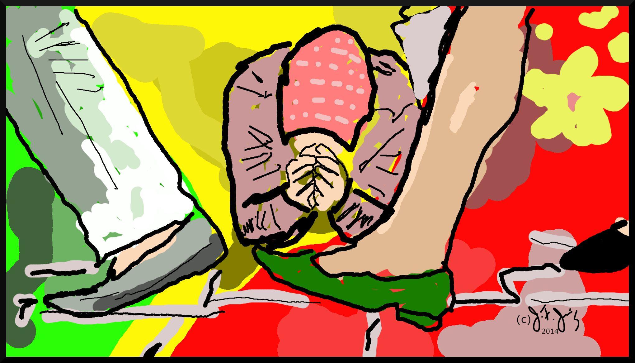 Prayers  By J. F. Jennings  2014 praying, old, woman, elderly, poor, desperate, seeking
