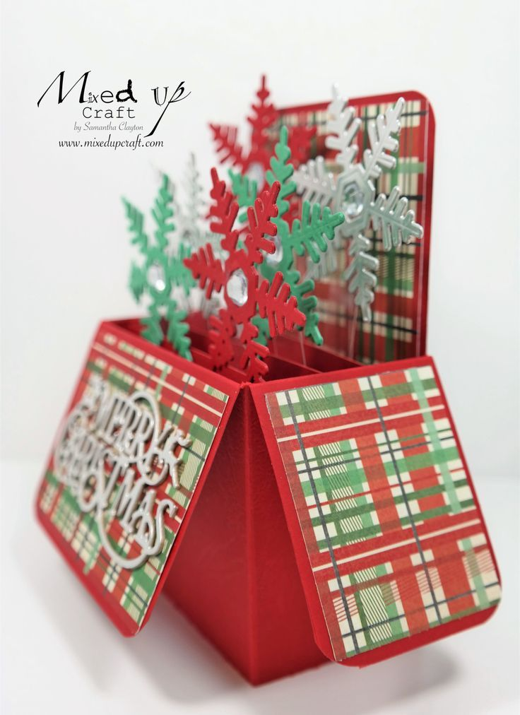christmas pop up card  pop up christmas cards boxed