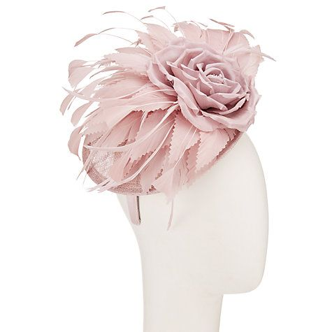 John lewis mary silk flower disc fascinator dusty pink dusty pink buy john lewis mary silk flower disc fascinator dusty pink online at johnlewis mightylinksfo