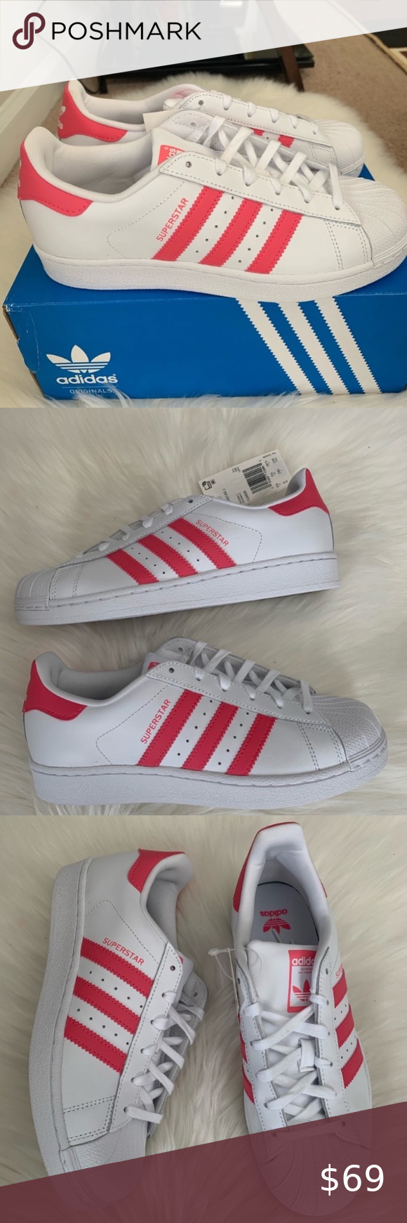 Adidas Superstar Youth Size 6 New Youth