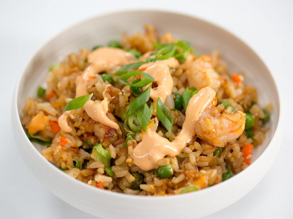 AirFried Shrimp Fried Rice Recipe in 2020 Air fryer