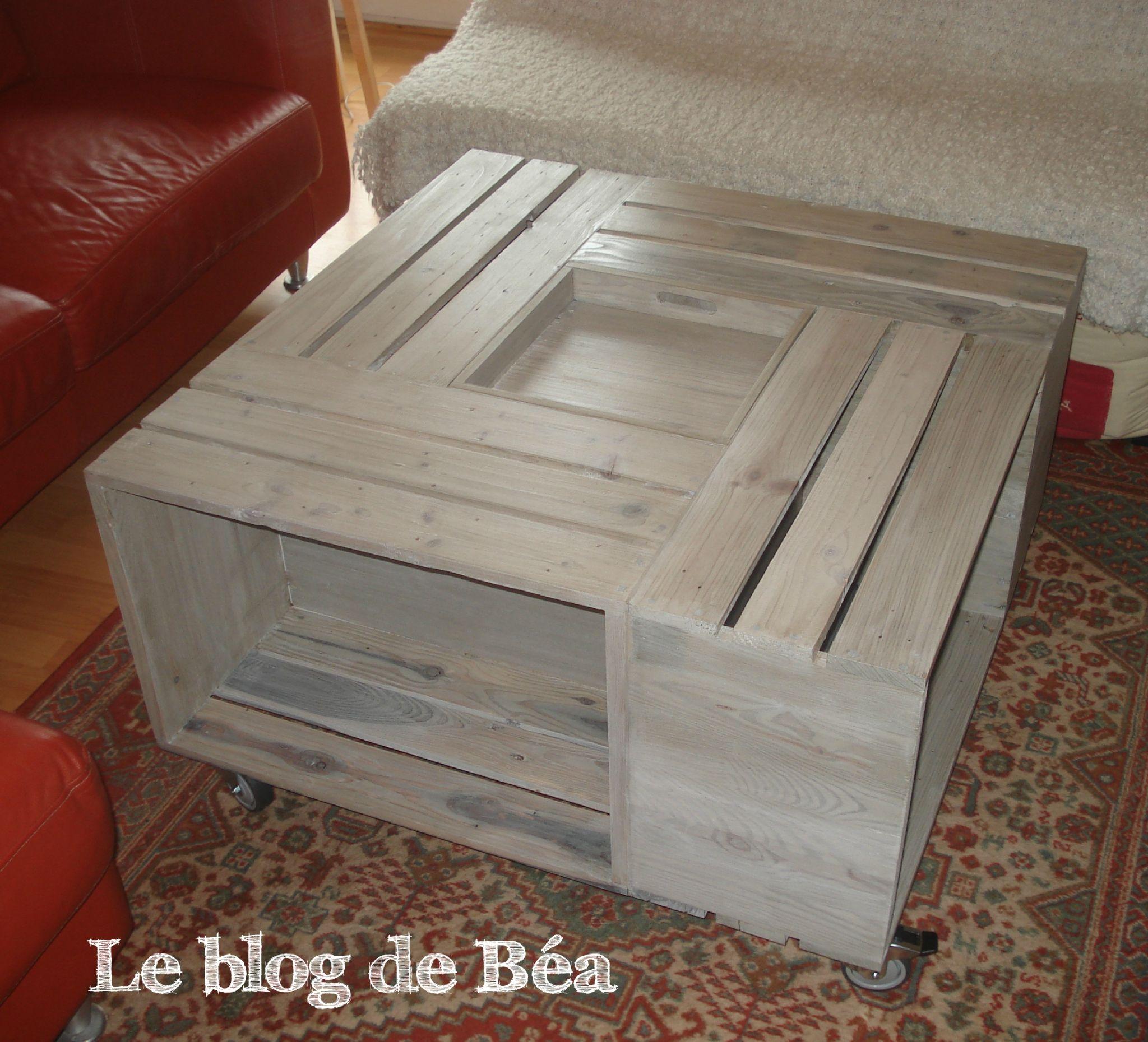 Tuto Table Basse Bois diy table basse bar | table basse bar, fabriquer une table basse