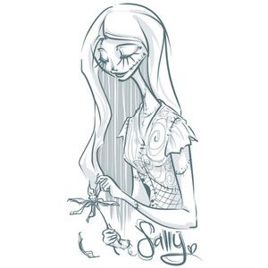 nightmare before christmas sally drawing - Google Search | Ink ...