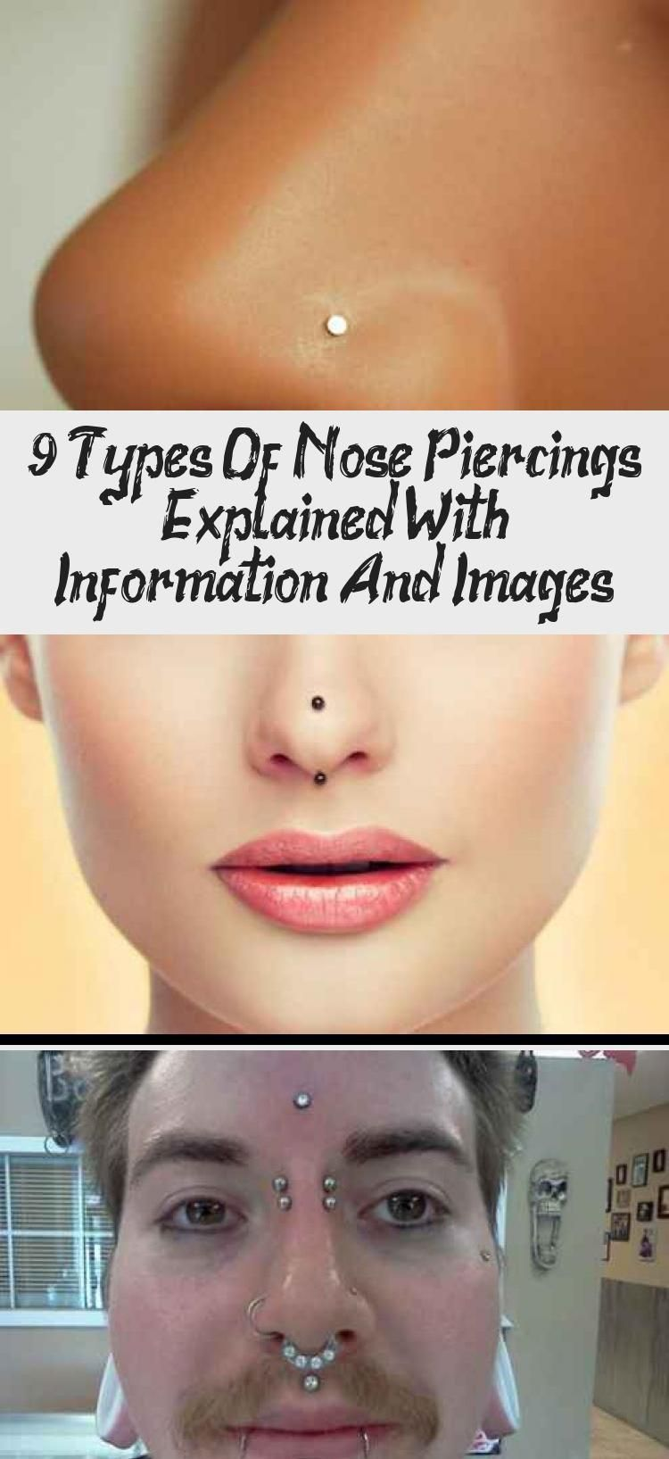 15++ Nose shapes and piercings ideas