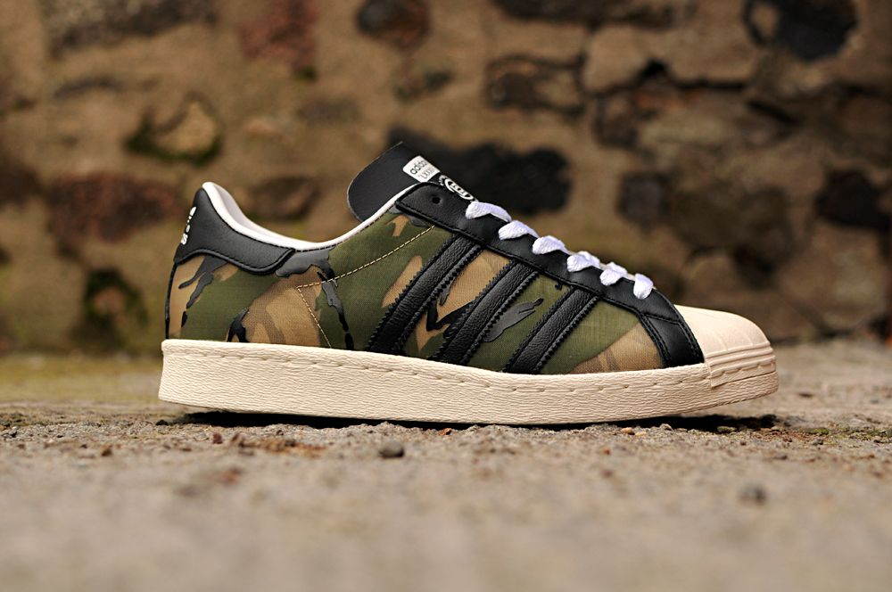 new arrival 6dc95 fe0a4 CLOT x adidas Superstar 80s x KZK 84-lab