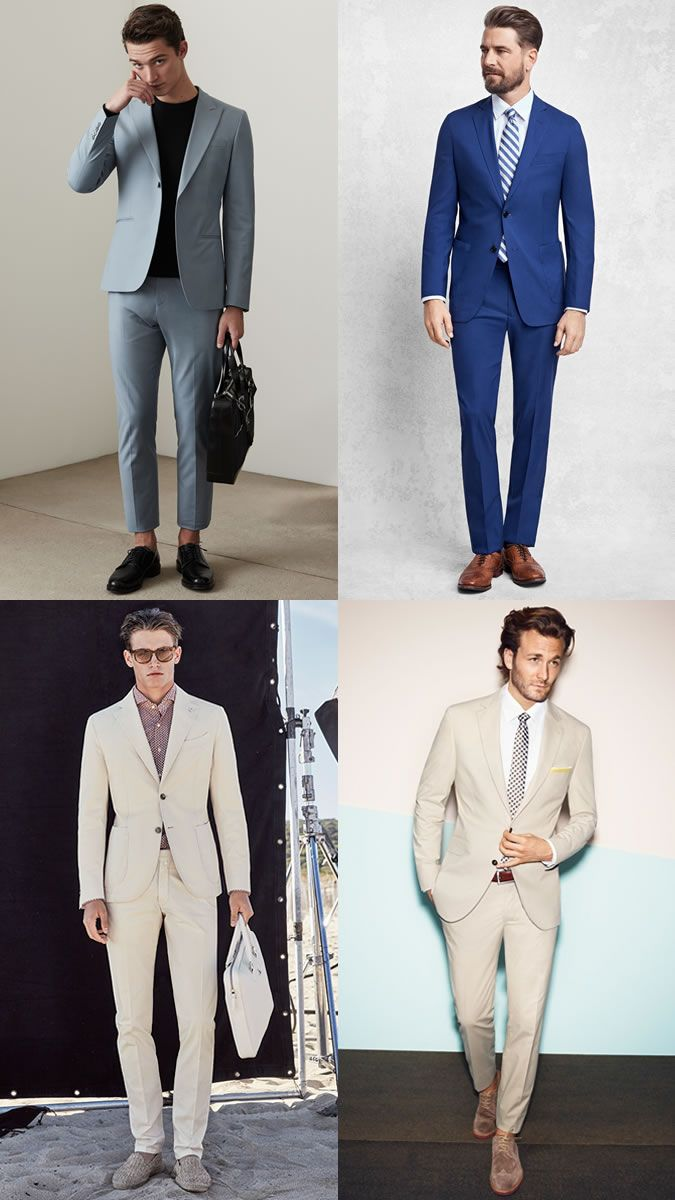The Men Suit for Spring/Summer: The Occasion Suit Lookbook ...