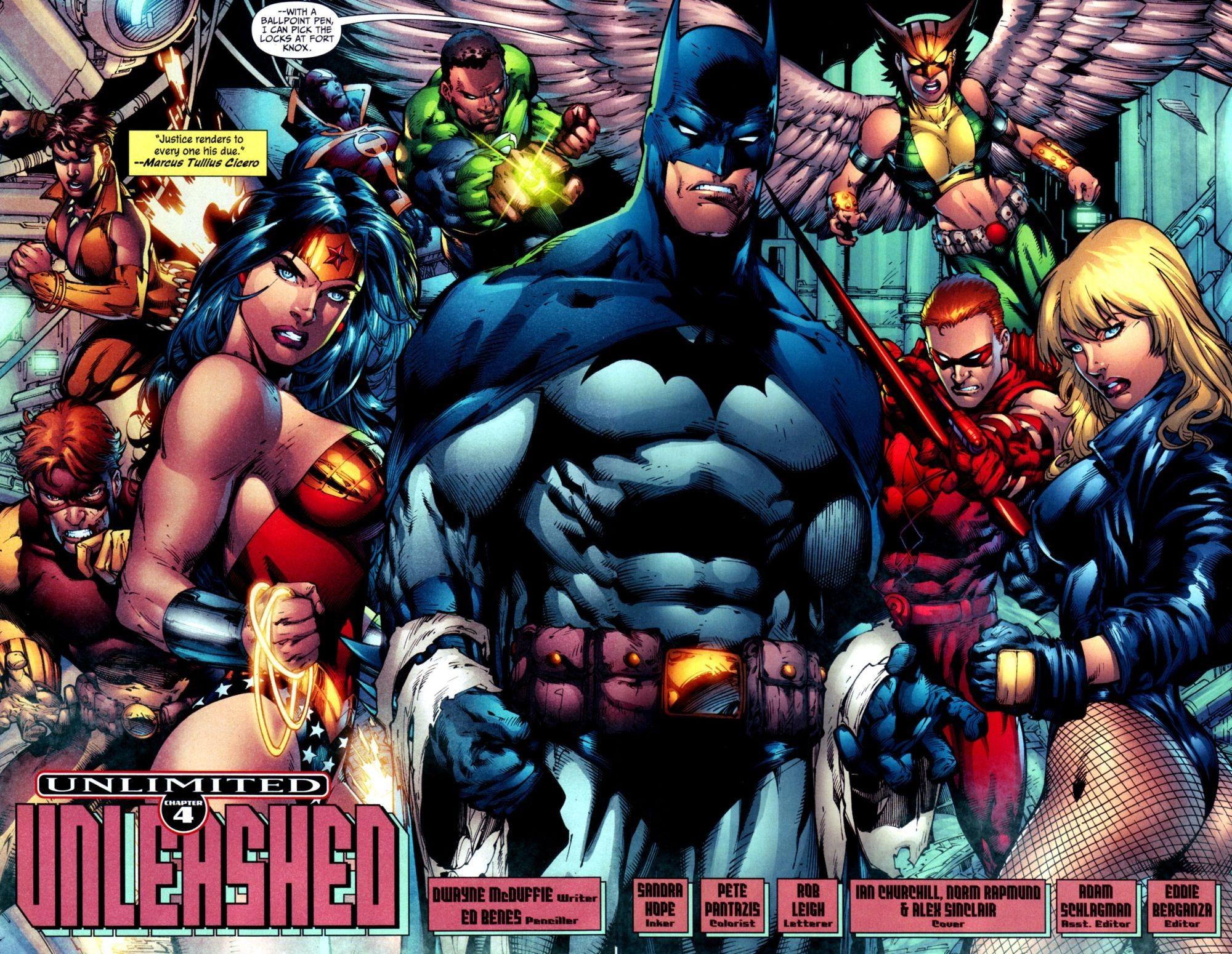 Justice League Dc Comics Superheroes Wallpapers: Hd Desktop Wallpaper - Dc Comics Comics