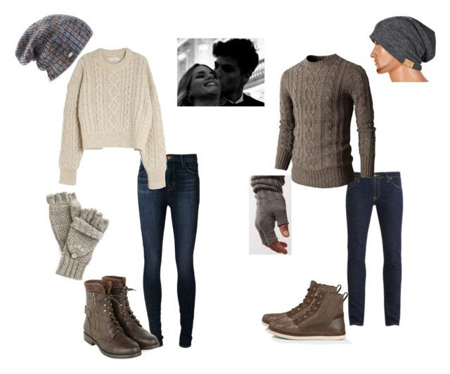 """""""Winter Cuddling"""" by serai-825 ❤ liked on Polyvore featuring Nudie Jeans Co., Doublju, ESK, UGG Australia, J Brand, Étoile Isabel Marant and Spacecraft"""