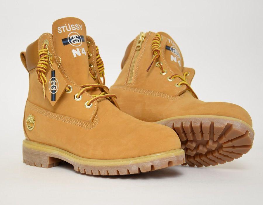 Stussy  Timberland 6 Boot Beige  06b42376148e